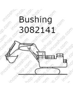 Bushing, Boom Frame & Side Arm Bucket Pivot