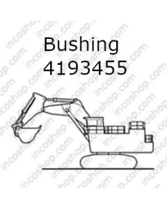Bushing, Front Bucket & Dump Cyl