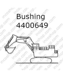 Bushing, Front & Rear Bucket